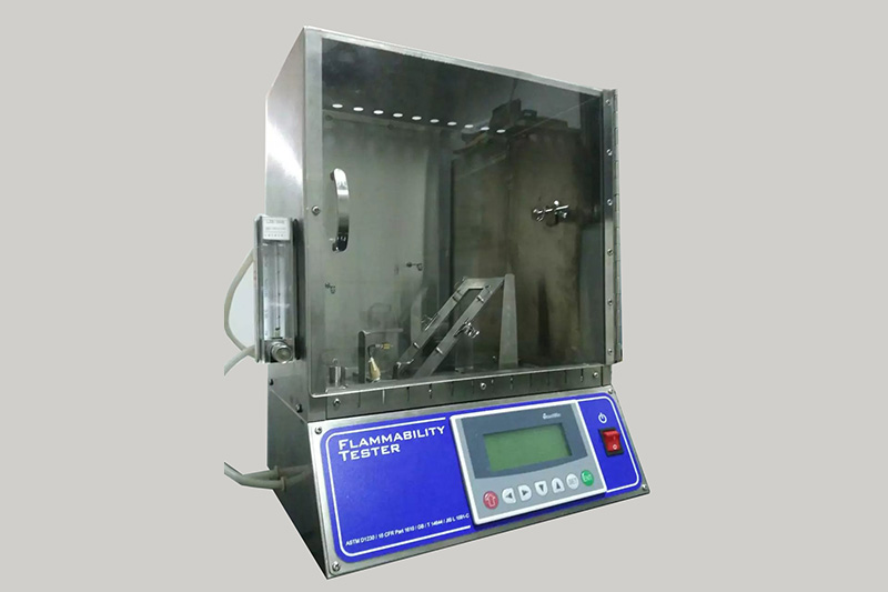 45 degree Flammability Tester For Textile 01