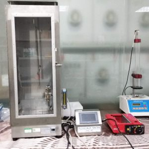 Flame Spread Vertical Flammability Tester