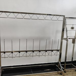 Fabrics Woven Knit Elongation Testing Machine With ASTM D 2594 And ASTM D3107
